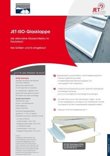 JET-ISO-Glasklappe - JET-Gruppe
