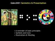 Gdes2001 Semiotics & Presentation