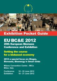 Do you know that...? - European Biomass Conference and Exhibition