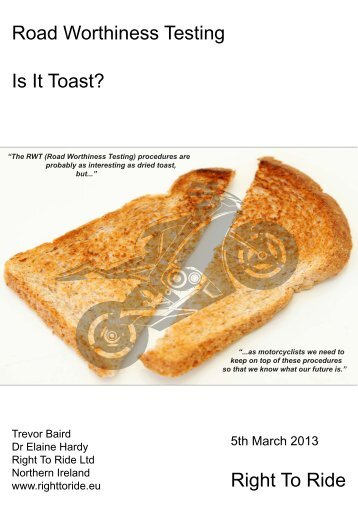 Is it Toast?- pdf - Right To Ride EU