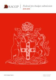 RACGP-Federal-pre-budget-submission-2015-16-5-February-2015-Final