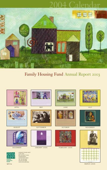 2003 Annual Report for pdf - Family Housing Fund