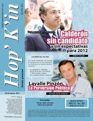 Calderón sin candidato