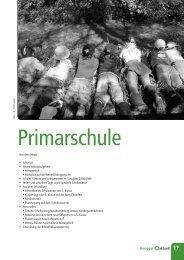 Aus dem Inhalt s s   s s s     s     s - Primarschule Henggart