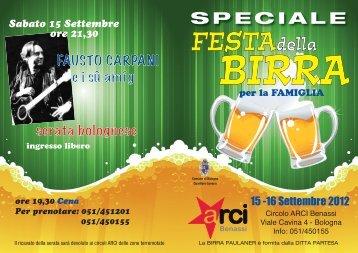 Festa della Birra - Arci Bologna