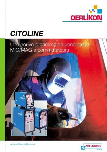 CITOLINE - Oerlikon Servicios > Welding Assistance