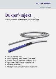 Duxpa Injekt - Reuss-Seifert GmbH