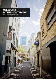 melbourne oFFICIAl VISITor mAP - Destination Melbourne