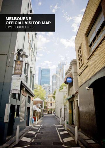 melbourne oFFICIAl VISITor mAP - Destination Melbourne