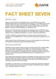 FACT SHEET SEVEN - Dafne - UK.COM