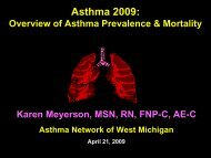 Asthma - Institute for Health Care Studies (IHCS)