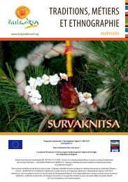 SURVAKNITSA TRADITIONS, MÉTIERS ET ... - Bulgaria Travel