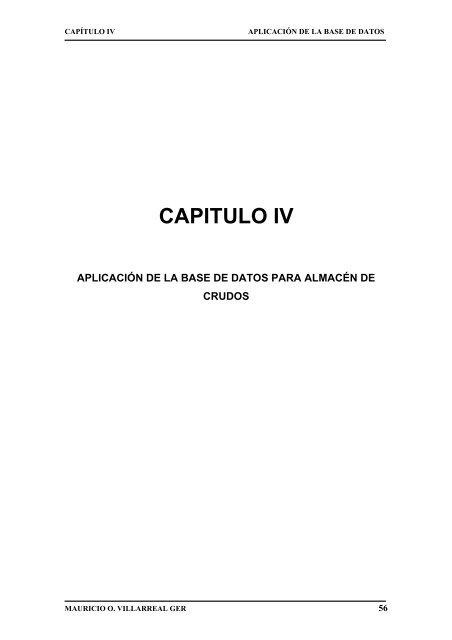 CAPITULO IV - Repositorio UTN