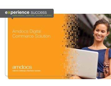 Amdocs Digital Commerce Solution