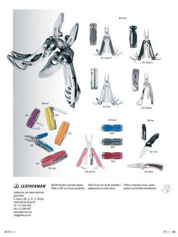 Leatherman, uma marca distribuída pela Porfirio R ... - Free Shop