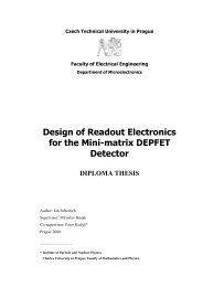 Design of Readout Electronics for the Mini-matrix DEPFET Detector