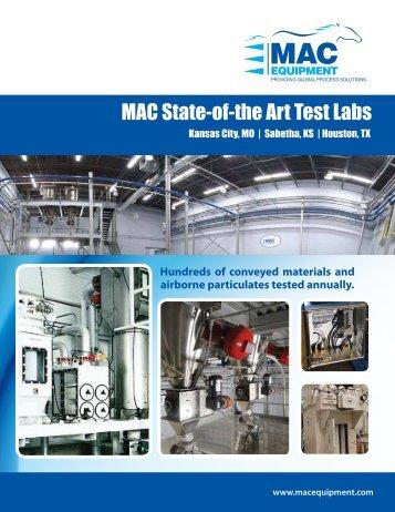 MAC State-of-the Art Test Labs - Mac Process Mac Process