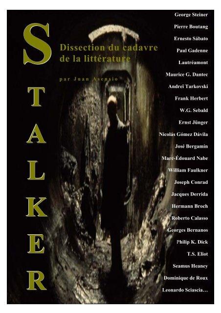 Géographie mentale de la Shoah de Jean-Luc Evard - Stalker