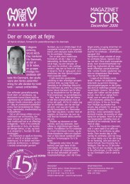 MAGAZINET Der er noget at fejre - Hiv-Danmark