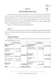ATAN.O 27 REUNIÃO ORDINÁRIA DE 20-12-2012 FALTAS SALDO ...