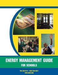 Energy Management Guide For Schools - Need