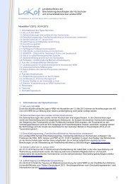 Newsletter Nr. 1/2012 - LaKof NRW