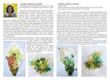 Katalog izložba slika Maria Ortega Estapa
