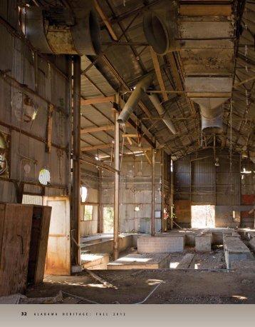 2012 Places in Peril Alabama Heritage Magazine article