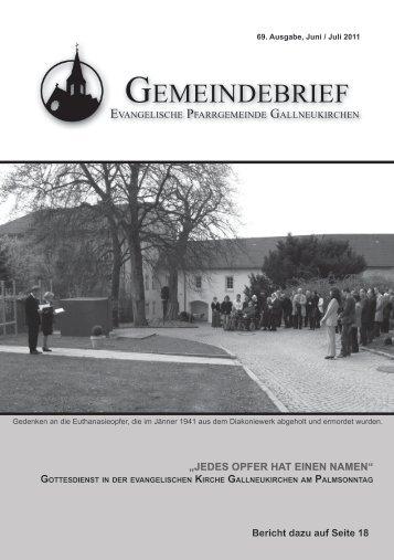 Bad Ischl - Attersee - Rosenau - Evangelische Pfarrgemeinde ...