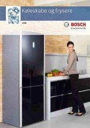 Køleskabe og frysere - Bosch