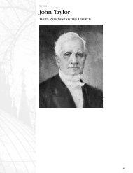 Presidents : Chap 3 - John Taylor
