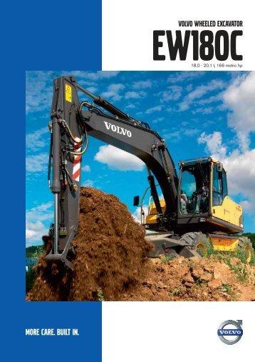 EW180C - Volvo Construction Equipment