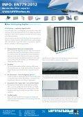 INFO: EN779:2012 - HS Luftfilterbau GmbH - Page 3