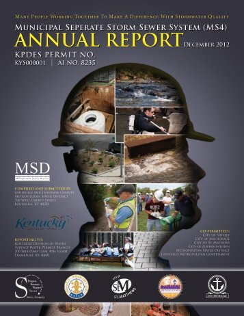 December 2012 MS4 Annual Report - MSD