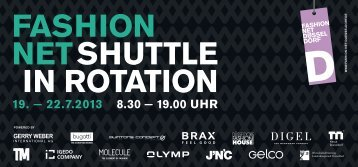 FASHION NETSHUTTLE IN ROTATION - Fashion Net Düsseldorf