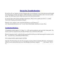 DeviceNet Troubleshooting - ODVA