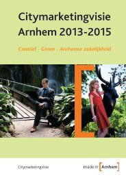 Citymarketing_visie_Arnhem_2013-2015