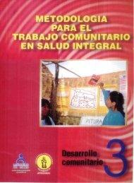 para el trabajo comunitario en salud integral 1 - BVS Minsa ...