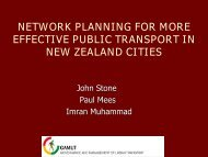 network planning for more effective public transport in new zealand ...