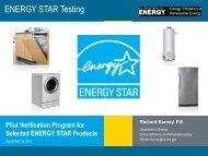 Richard Karney - 4E - Efficient Electrical End-Use Equipment