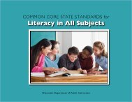 Literacy in All Subjects - Content and Learning