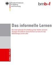 Das informelle Lernen - Werkstatt Frankfurt eV