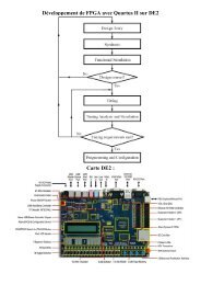 Développement de FPGA - Pages de Michel Deloizy