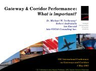 What Is Important? - Canada's Asia-Pacific Gateway & Corridor ...