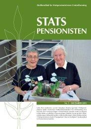 StatS penSioniSten - Statspensionisternes Centralforening