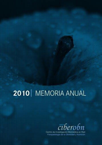 2010 MEMORIA ANUAL - Ciberobn