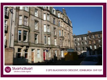 2 (2f1) blackwood crescent, edinburgh eh9 1qy - Stuart & Stuart