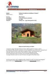www.alpeimmo.at, E-mail: office@alpeimmo.at Objekt: Schönes ...