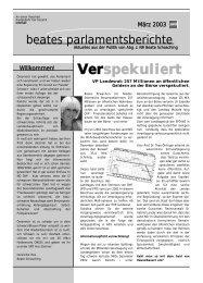 März 2003 - beate raabe-schasching - SPÖ