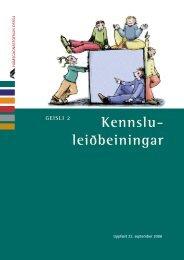 Geisli 2 - Námsgagnastofnun
